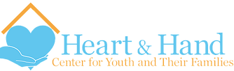 heart and hand logo